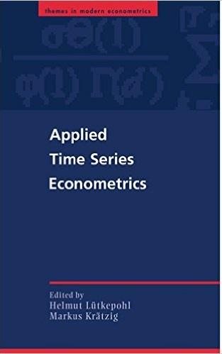 کتاب اقتصادسنجی سری های زمانی کاربردی لوتکیپول