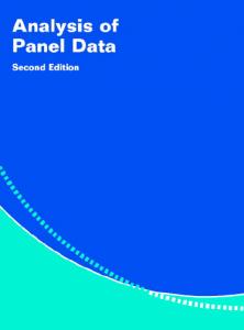 تجزیه و تحلیل دادههای تابلویی