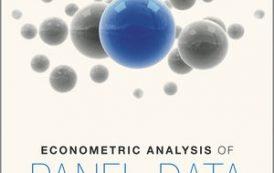 کتاب اقتصادسنجی بالتاجی (داده های تابلویی-Baltagi)