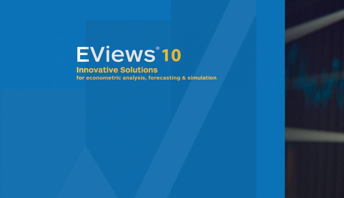دانلود ایویوز 10- 32 و 64 بیت- Eviews 10 Enterprise X86&x64