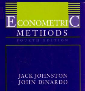 روشهای اقتصاد سنجی