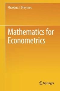 ریاضیات برای اقتصاد سنجی