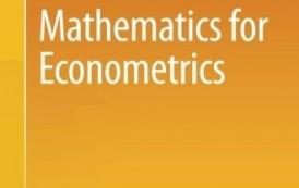 ریاضیات برای اقتصاد سنجی (نوشته دریمیز)