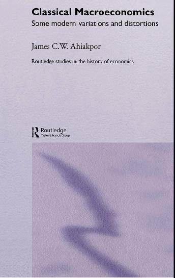اقتصاد کلان کلاسیک (برخی تغییرات مدرن)