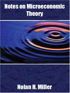نکاتی در مورد نظریه اقتصاد خرد