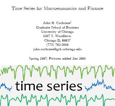 سریهای زمانی برای اقتصاد کلان و مالی